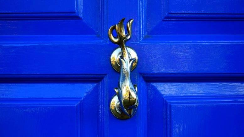 A door-knocker