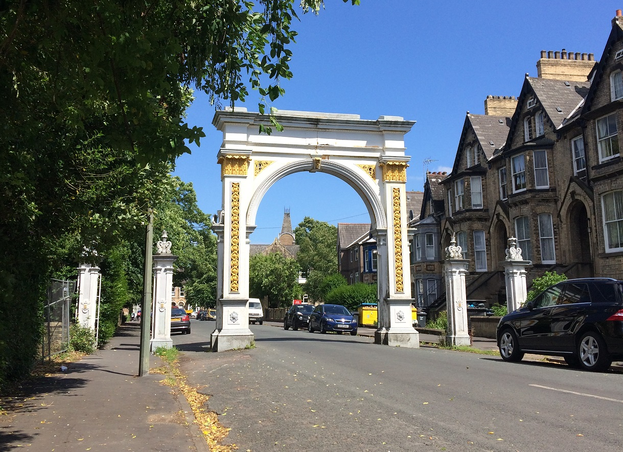 The Pearson Park Archway.