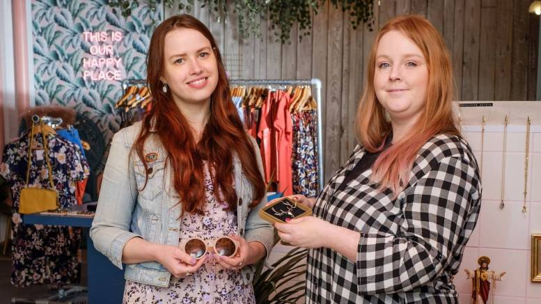 Owner Nicola Gibbons, right, with manager Anna Carter at Tessies in Hull's Fruit Market.