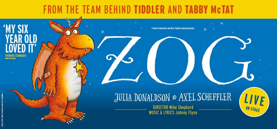 Zog will come to life in April.