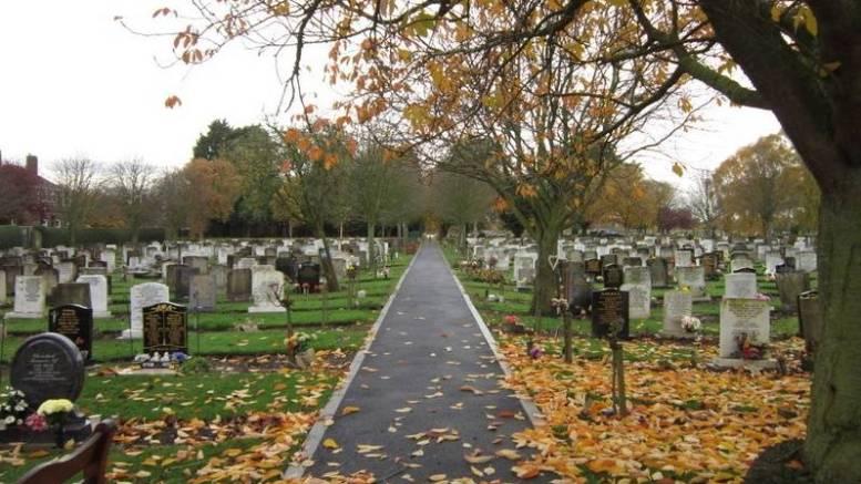 Eastern Cemetery in Preston Road