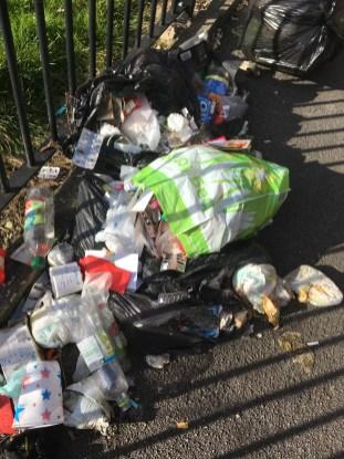 Waste dumped by Roche in Redbourne Street