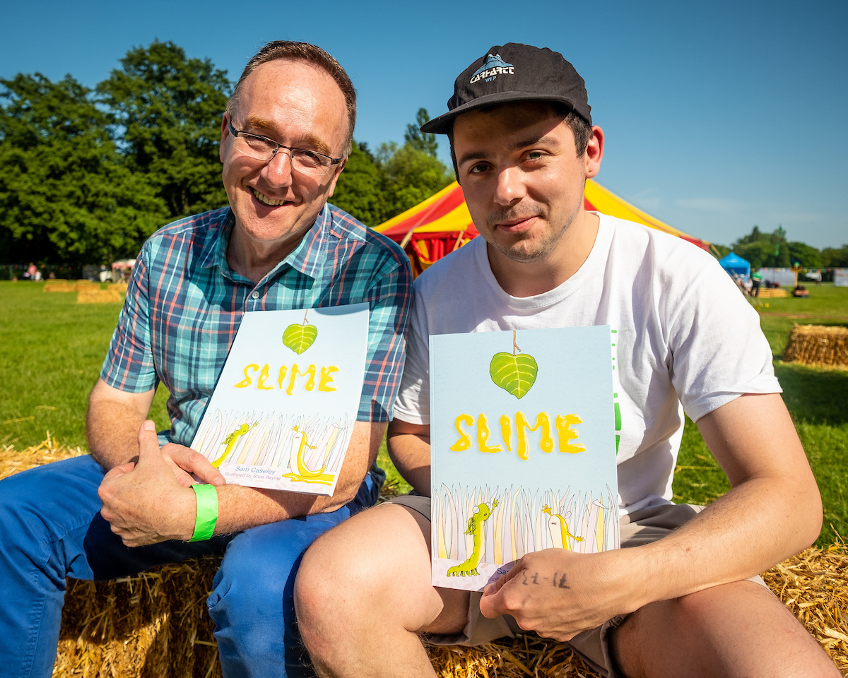 The Slime book launch at The Big Malarkey Festival. Picture: Jerome Whittingham @PhotoMoments