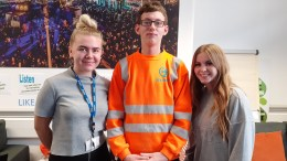 Care leavers at Hull City Council