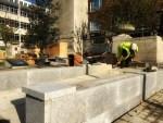 Hull Cenotaph ramp installation