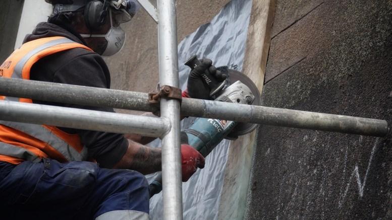 Banksy removal