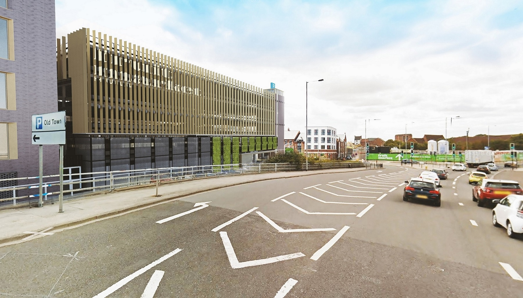 How the 350-space multi-storey car park will look