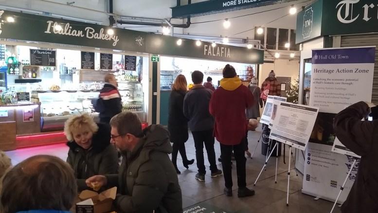 Whitefriargate regeneration engagement at Trinity Market