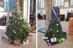 Trees entered into Hull's first Christmas Tree Festival