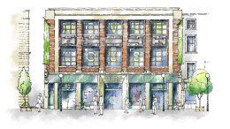 Artist's impression of Whitefriargate regeneration