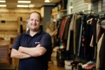 Jim Cooper at the Emmaus shop in Whitefriargate, Hull city centre. Picture: Neil Holmes Photography