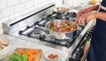 Cooking on a hob