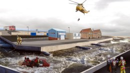 How the Ark National Flood Resilience Centre could look.