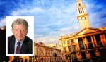 The Guildhall. Inset, Councillor Stephen Brady.