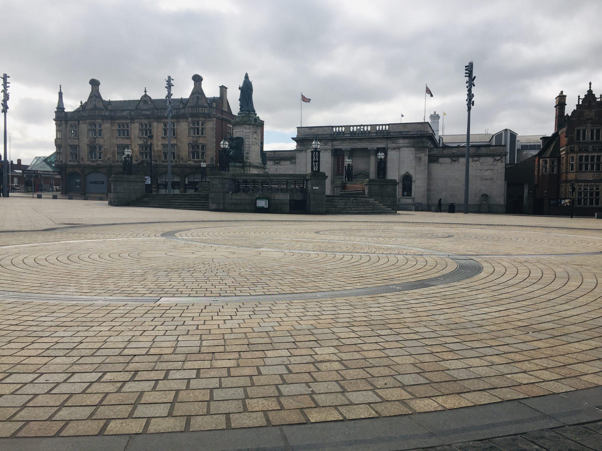 Queen Victoria Square coronavirus restrictions