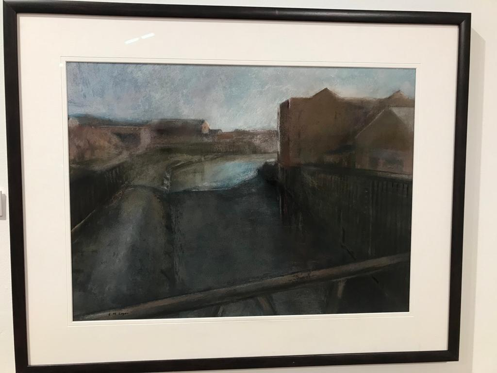 Ferens Open Exhibition 2020, Hull Culture and Leisure Chair Prize: Liz Cogan, The River Hull from Chapman Street Bridge