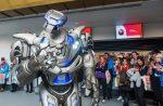 A robot at Tech Expo Humber 2019