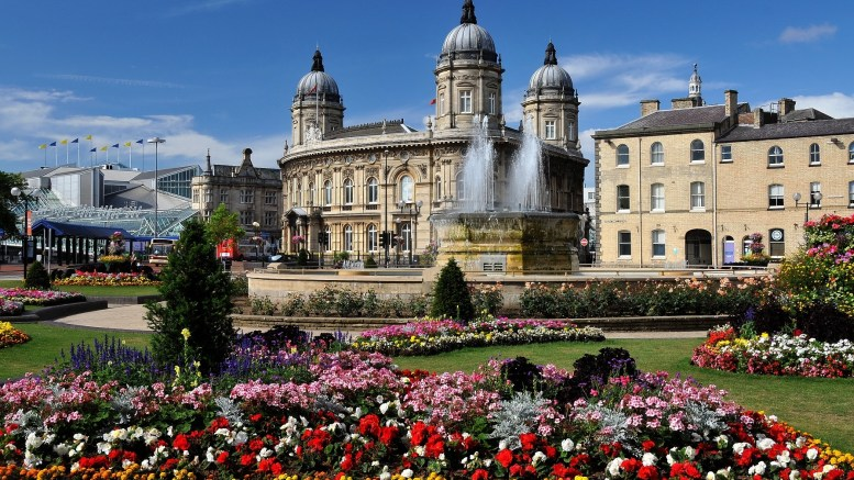 The Rose Bowl in Hull city centre.