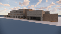 Plans for the new Broadacre Primary School in Hull.