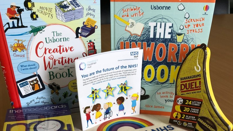 Wellbeing packs to help children with school work and mental health.