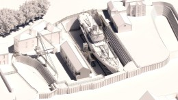 North End Shipyard visitor centre will become a carbon neutral building