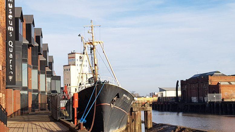 Hull's last remaining sidewinder trawler