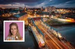 Hull from above. Inset, Lucy Beaumont.