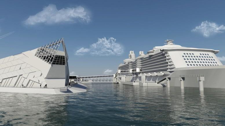 Yorkshire's Cruise Terminal visual