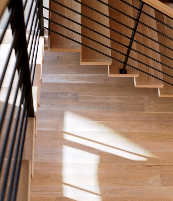 Stairs Hull Forest Products Made In Usa Since 1965   Custom Wood Stair Treads   Solid Wood   Reclaimed Wood   Red Oak Stair   Slate Tile   Los Angeles
