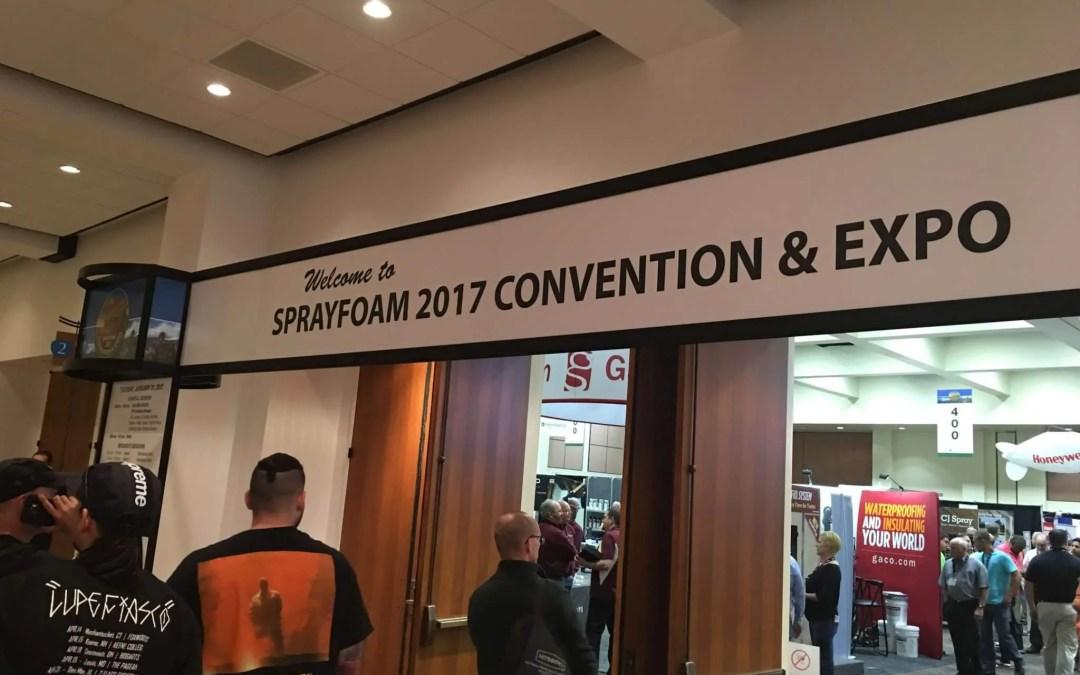Spray Foam 2017 Convention & Expo Palm Springs