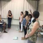 Interviewers' training in Florianópolis and Porto Alegre