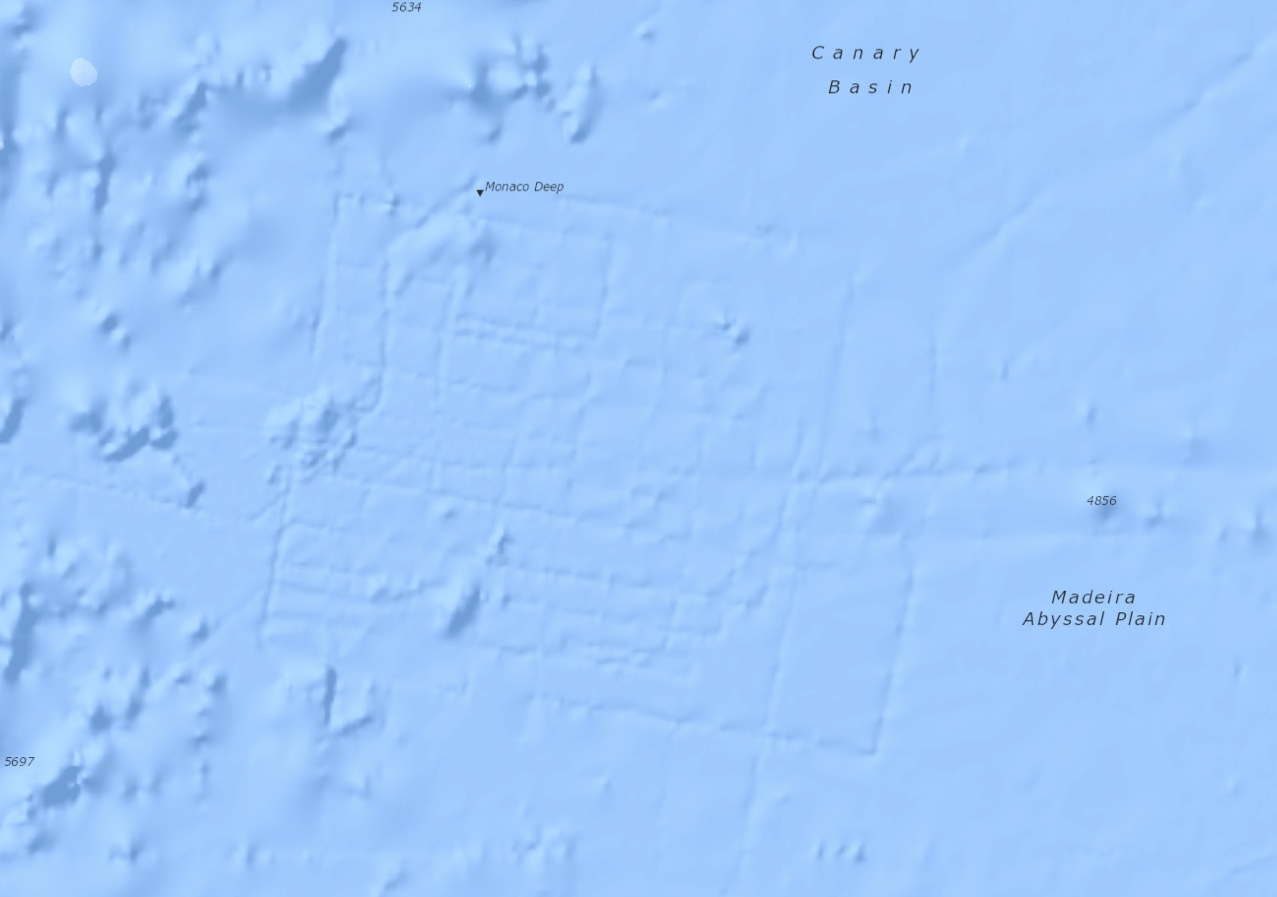 Fibonacci alignments of the Azores Pyramid and submerged city of Poseida Submerged5