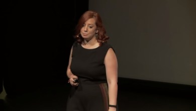 Photo of The 'H' in HR | Sylvie Koshkarian | TEDxLAU