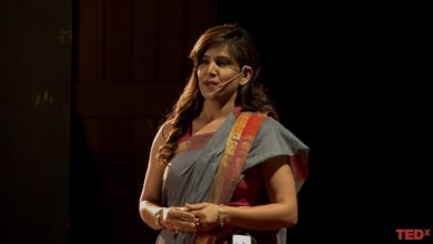Photo of A female bodyguard breaking stereotypes. | Veena Gupta | TEDxMansaroverPark