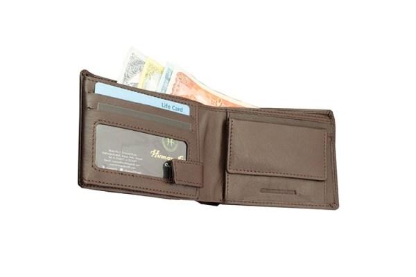 Coin Pocket Loop Bi-fold Wallet