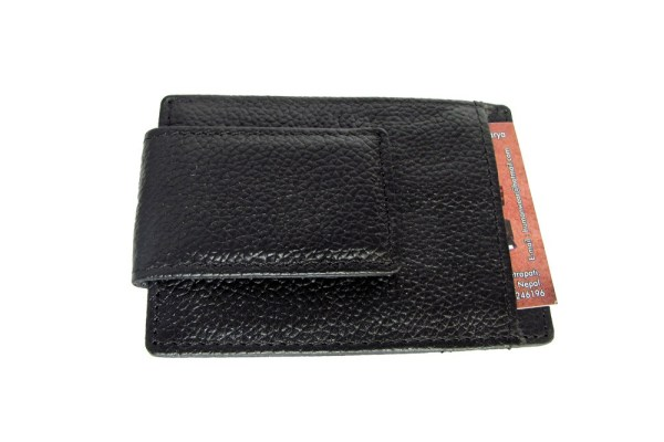 Leather Wallet with Card Holder