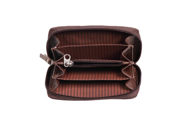 Round Zipper Wallet