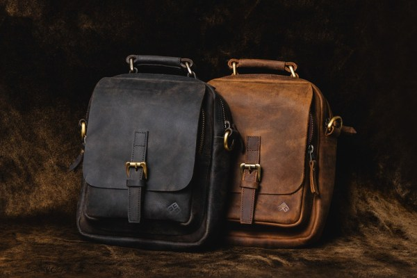Two Side Bag Genuine Leather
