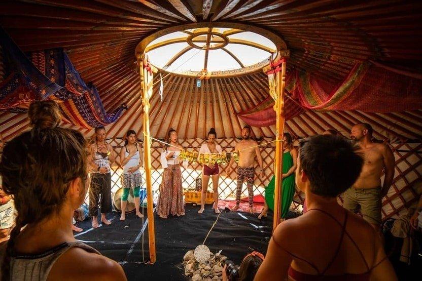 Sacred Earth Yurt