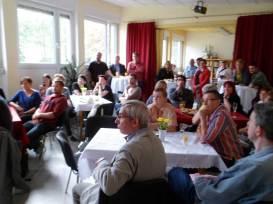 Zahlreiche Unterstützer und Kooperationspartner waren der Einladung zur Jubiläumsfeier gefolgt.