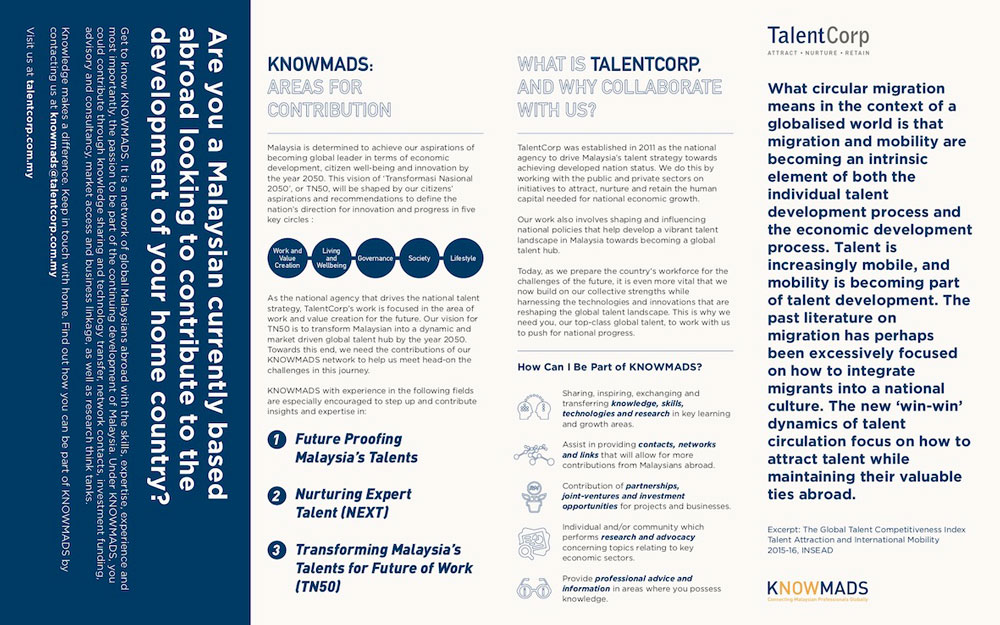 TalentCorp KNOWMADS by Humanitarian Capital