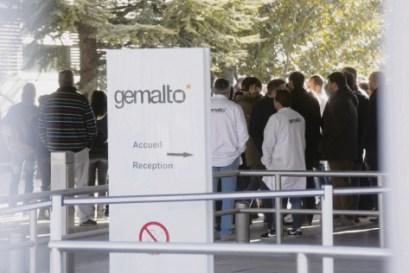 Les résultats affichés par Gemalto sont insolents : 453/millions d'euros de bénéfice net en 2016. Pour les salariés : 288 postes supprimés bientôt. PHOTOPQR/La Provence/MaxPPP