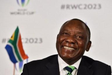 Cyril Ramaphosa fut un temps pressenti par Nelson Mandela pour prendre sa succession avant d'être écarté. Photo : Glyn Kirk/AFP