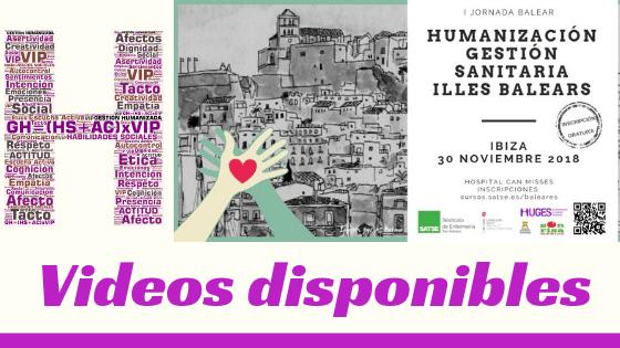 HUGES en la Jornada de Humanización de la Gestión Sanitaria de Baleares