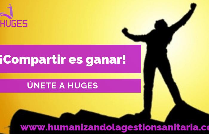 Únete a HUGES – Compartir es ganar