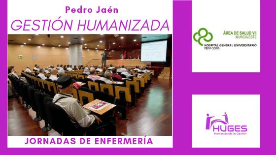 HUGES en las XV Jornadas de Enfermería del Área VII de Murcia