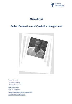 Titel Manuskript Selbstevaluation und Qualitätsmanagement