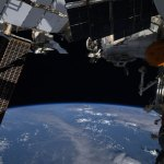 Earth-and-ISS-solar-panels