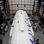 Falcon 9 with Landing Legs Attached