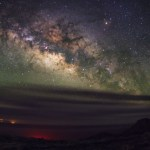 The Milky Way at night